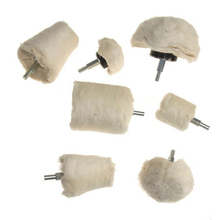 Drilling And Polishing Wheel 7 Pieces Of White Polishing Mop Wheel Cone/T-Shaped Wheel Grinding Head Band 1/4 Handle Suitable футболка wheel of steelo