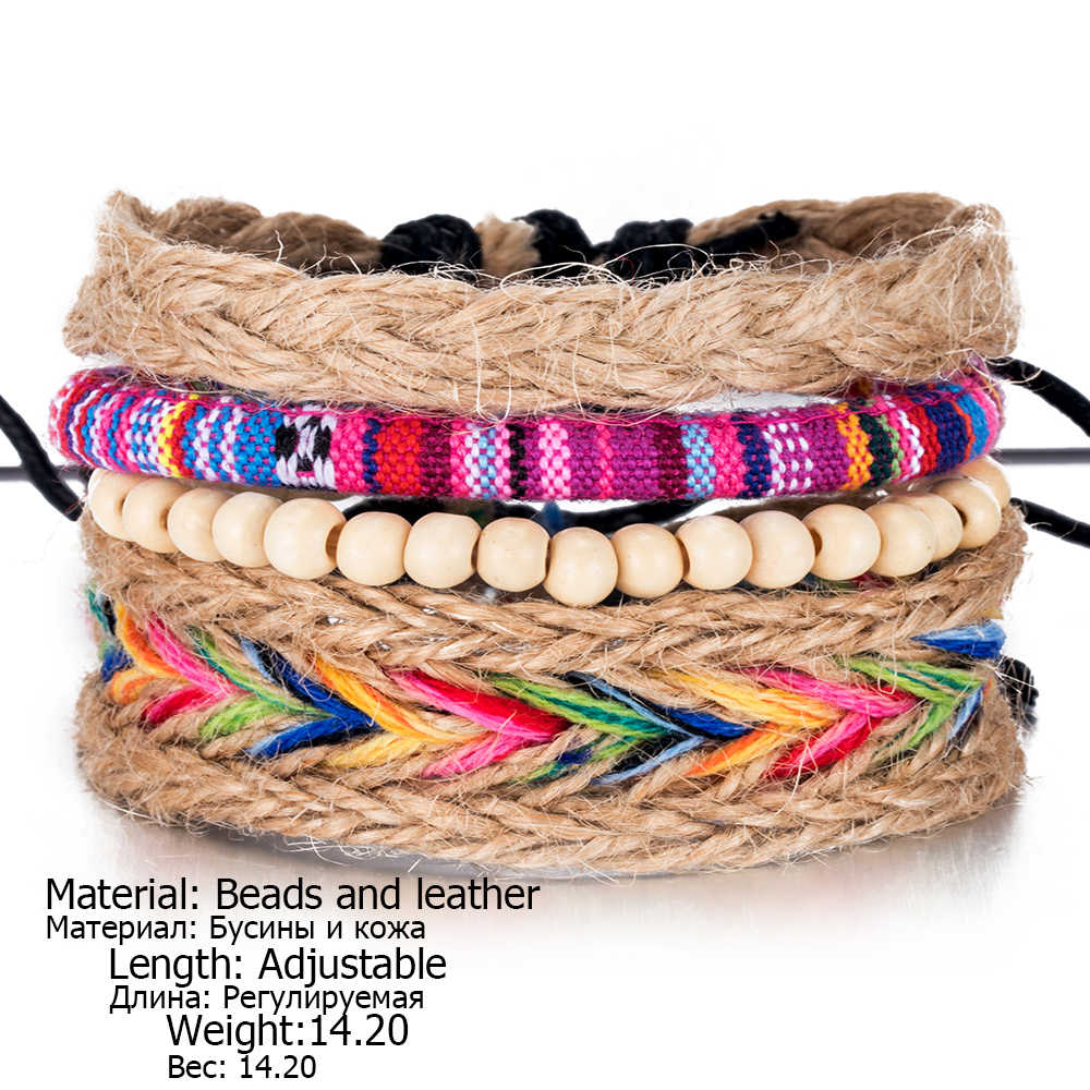 Colorful Beaded Multilayer Handmade