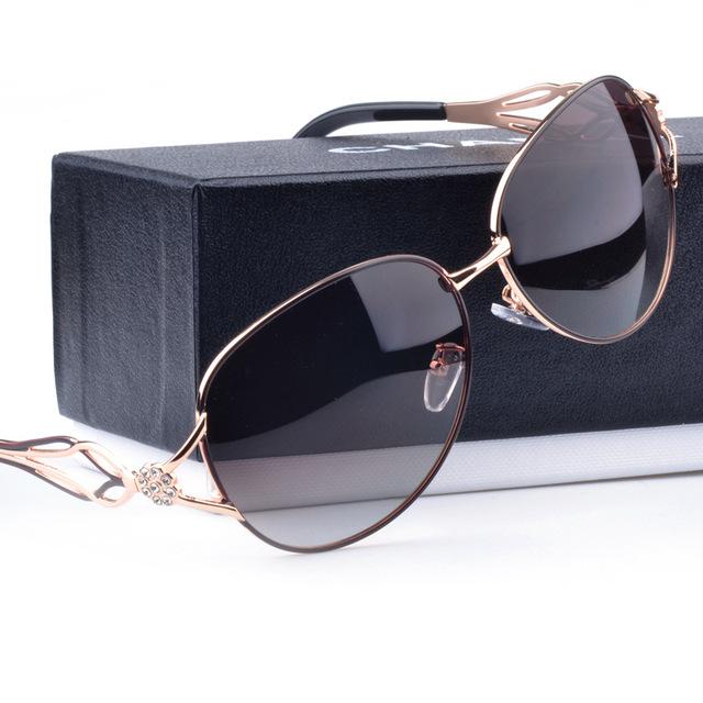 2016 Moda óculos Polarizados Óculos De Sol Das Mulheres Óculos Óculos de Sol Das Senhoras Grande