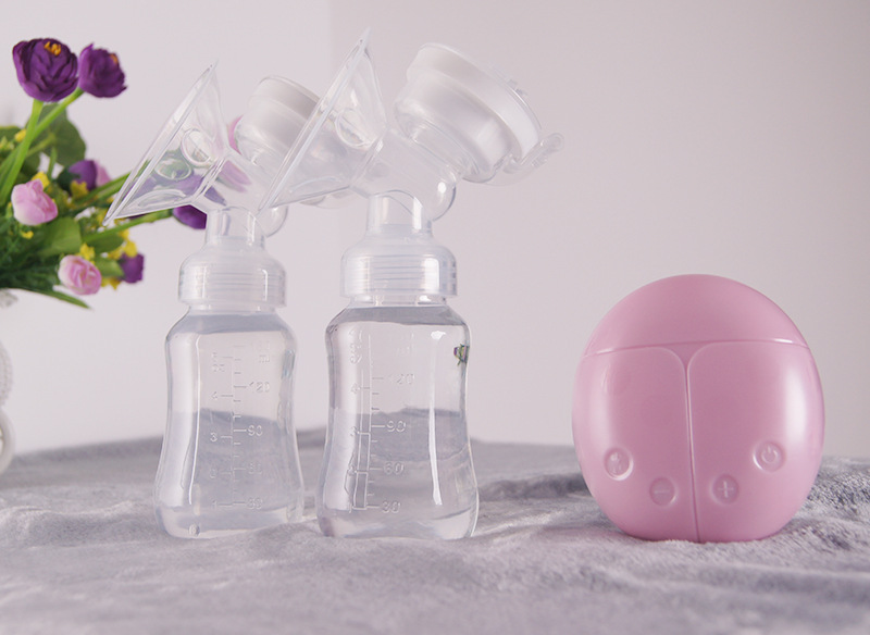 Baaobaab XNQ01 двойной Электрический молокоотсос мощный всасывающий сосок USB Электрический 150 мл с бутылка для детского молока feedkid infantil