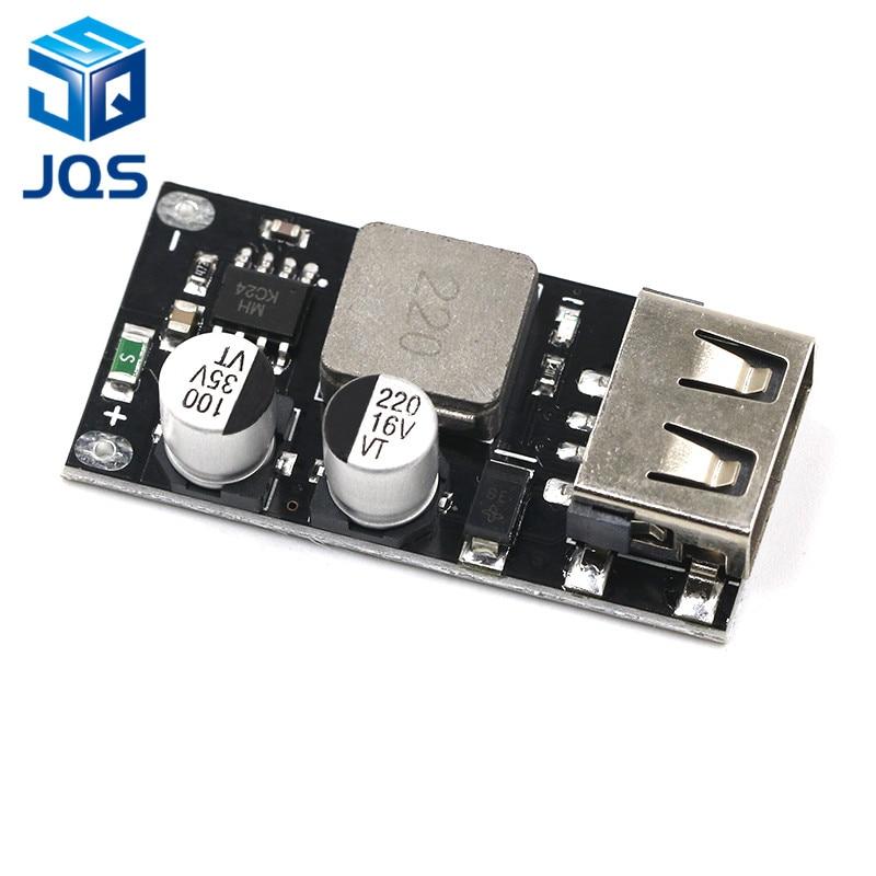 USB QC3.0 QC2.0 DC-DC Buck Converter Charging Step Down Module 6-32V 9V 12V 24V To Fast Quick Charger Circuit Board 3V 5V 12V