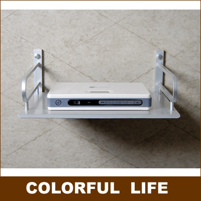 Shelf /Racks For DVD , Routers, Switches, Modems ,Wall Hanging ,Home Decoration Hardware