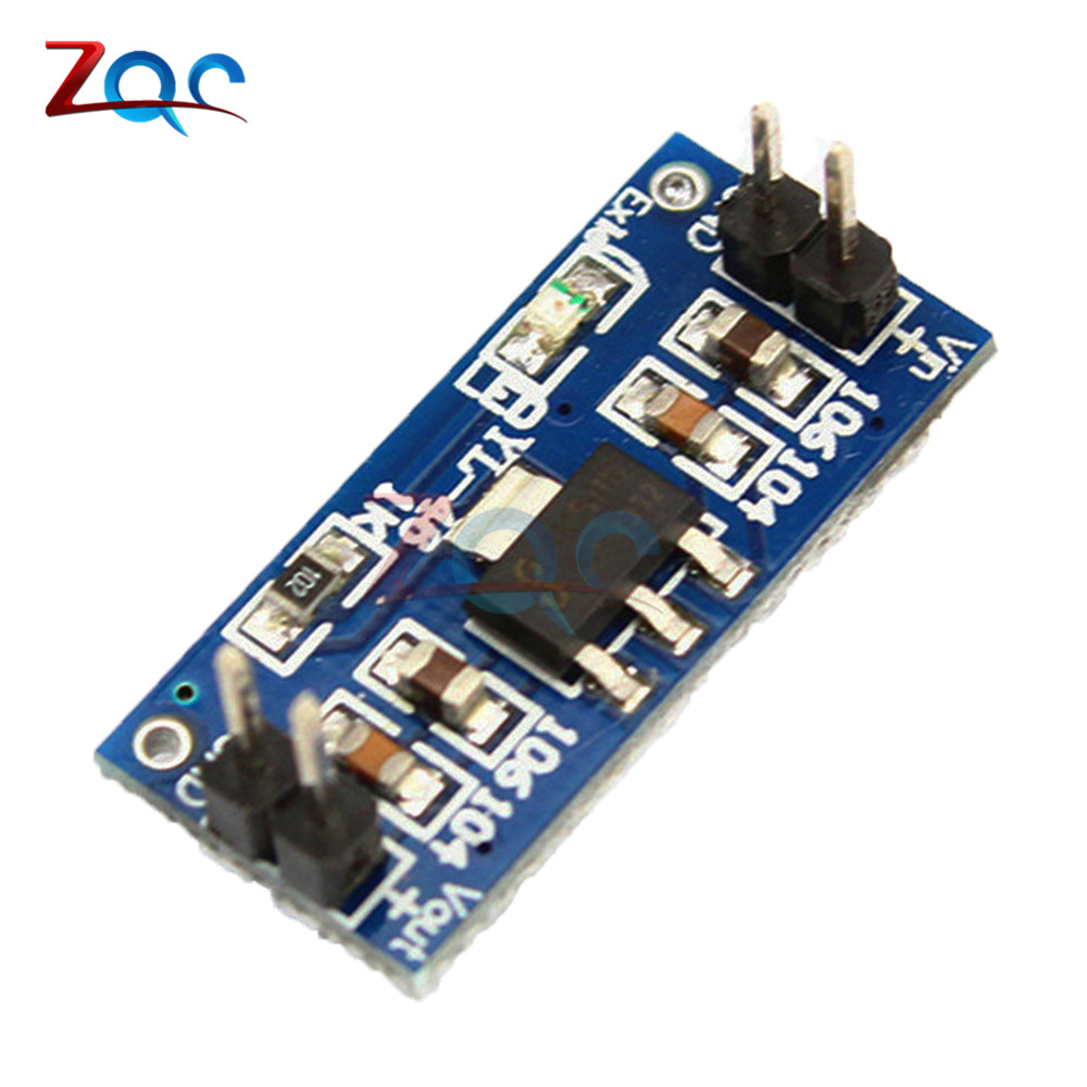 2pcs AMS1117 4.5-7V turn 3.3V DC-DC Step Down Power Supply Module For Arduino Raspberry pi PCB Board AMS1117-3.3V ds3231n raspberry pi rtc board real time clock module for arduino red
