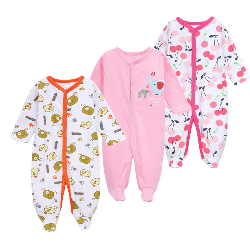 f0db1323c416 Detail Feedback Questions about 3Pcs lot Baby Rompers Spring Baby ...