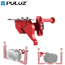 PULUZ Shutter Release Trigger Extension Adapter Lever Mount for Underwater Arm System