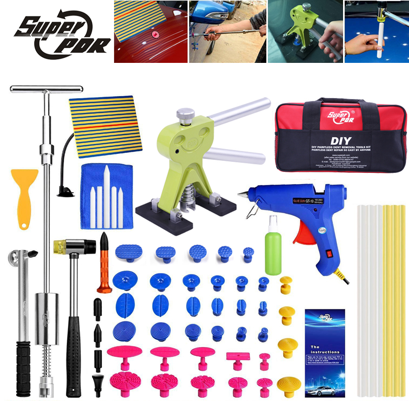 pdr tools kit paintless dent repair tools dent removal pulli