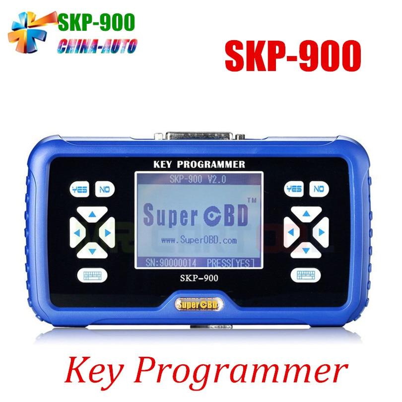 Original SKP900 Auto Key Programmer V4.3 SKP 900 Key Programmer NO Tokens Limitation Support Almost All Cars