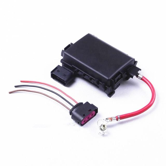 OEM Battery Fuse Box Assembly + Plug For VW Beetle Jetta Bora Golf