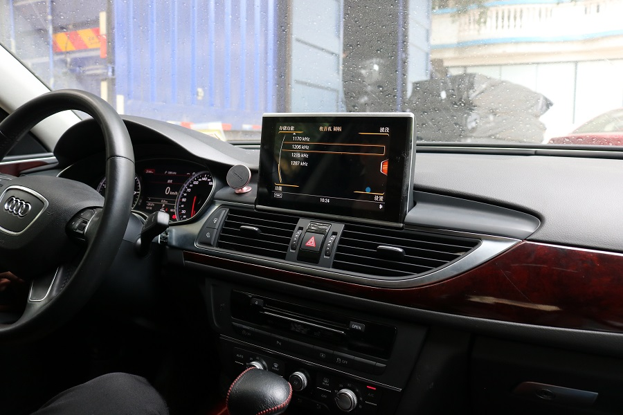 Touch Screen Car Android 8.0 Radio Player Fit for <font><b>Audi</b></font> <font><b>A6</b></font> A6L A7 Multimedia octa Core <font><b>Gps</b></font> <font><b>Navigation</b></font> Bluetooth with MMI Menu image