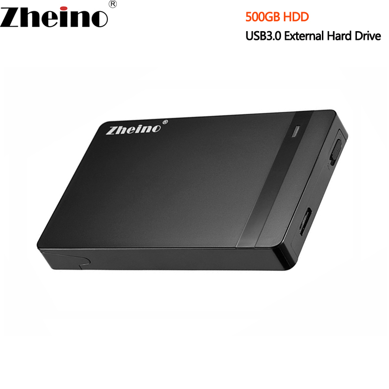 Hard-Disk-Drive Laptop Desktop Usb-3.0 External Portable Zheino 500GB 16MB 5400RPM