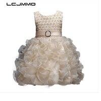 LCJMMO Flower Kids Party Costume For Girls TuTu Prom Dresses Children S Clothing Girl Princess Ball