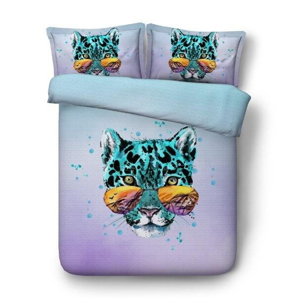 31. bedding set leopard