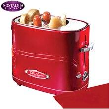 المنزلية التلقائي الإفطار ماكينة الأمريكية ماكينة هوت دوغ صغيرة الخبز/صانع السجق نخب الفرن