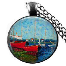 Red Boat Necklace