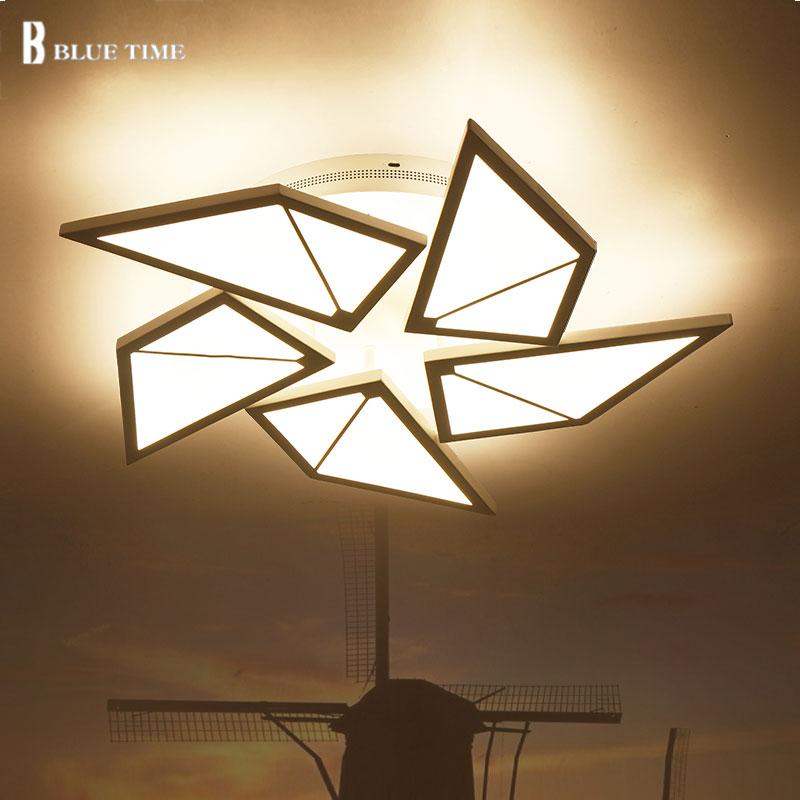 luces de techo para la sala de estar dormitorio moderno plafonnier led iluminacin para