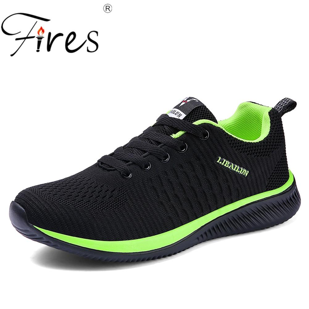 שריפות איש ריצה נעלי 45 סניקרס לגברים נוח ספורט נעלי גברים מגמת קל משקל לנשימה הליכה Zapatillas