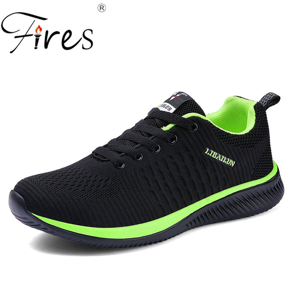 Fires Man Running Shoes 45 Sneakers For Men Comfortable Sport Shoes Men Trend Lightweight Walking Shoes