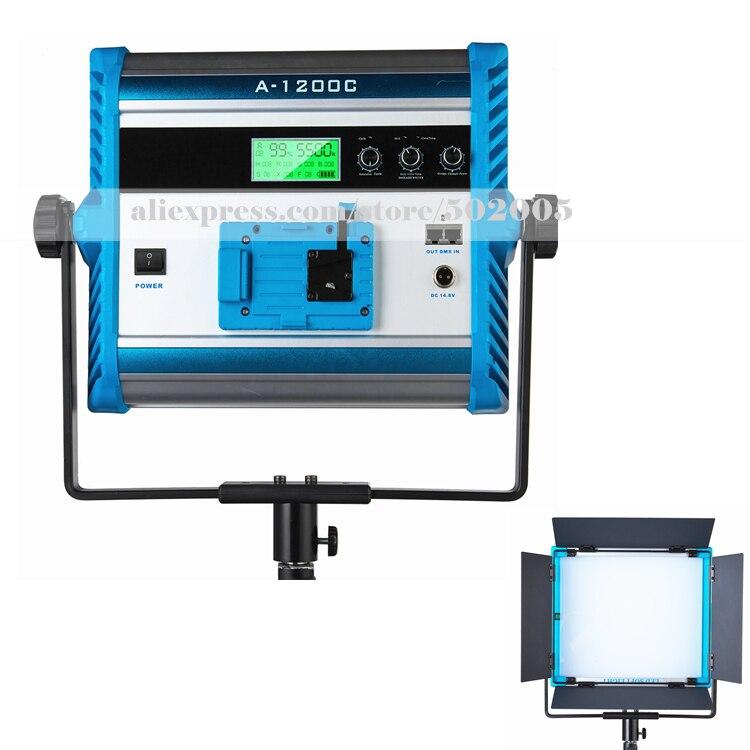 Yidoblo Indoor Video Film Shooting light A-1200c Pro RGB led light multi color for led panel light broadcast Lamp APP control