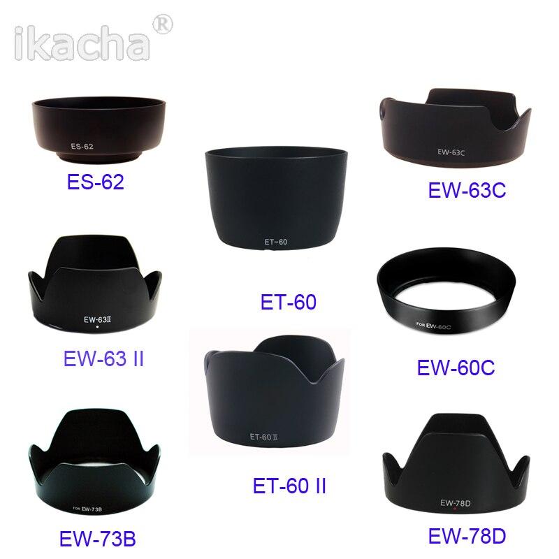 2 Pack Vello EW-60C Dedicated Lens Hood