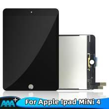 ЖК-дисплей класса AAA + для iPad mini 4 Mini4 A1538 A1550, сенсорный экран с цифровым преобразователем, сменная панель в сборе