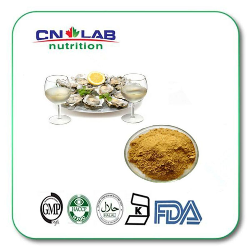 1000g GMP factory supply halal oyster shell extract 10:1 powder sex well production and a restful night sleep gmp factory supply deer antler velvet extract powder 10 1