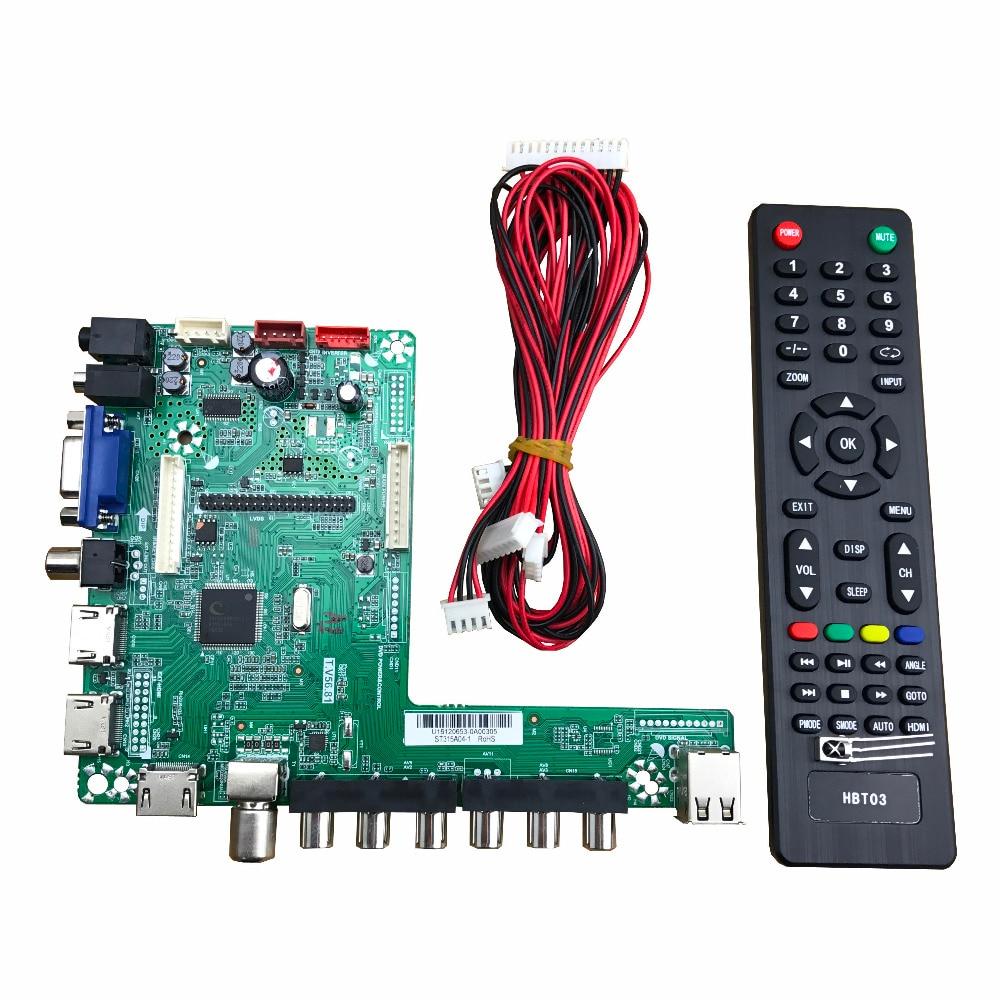 T.V56.81 universal LED driver board module 32-65inch TV board 1920*1080 T.V56.81 universal LED driver board module 32-65inch TV board 1920*1080