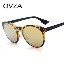 Ovza 2017 Newest Oval Retro Sunglasses font b Women b font font b Fashion b font