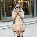 Зимние Куртки Женщины Сгущает Пальто Верхняя Одежда Женская Мода Парки Зимой Вниз Хлопка Куртки Куртка Wadded Плюс Размер LQ040