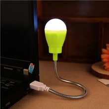 Mini Flexible USB Led USB Light Table Lamp Gadgets usb hand lamp For Power bank PC laptop notebook