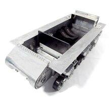 Mato 1:16 Шерман металлический робот шасси с подвеской дорожные колеса для Mato M4A3(75) W полностью металлический Радиоуправляемый Танк Sherman 1230