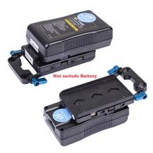 ROLUX RL-VFU1 USB port dslr v montaj güç adaptörü 5D2 Kamera V kilit güç kaynağı sistemi Muitl Çıkış Adaptörü v montaj plakası