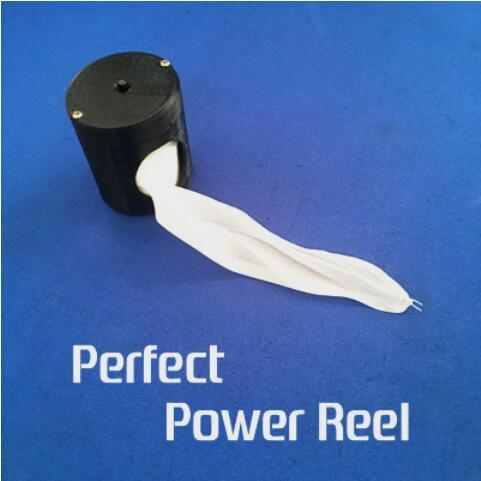 New Perfect Power Reel (Black/Flesh Color Available) Silk Flying Device Magic Tricks Stage Street Gimmick Accessories Mentalism light heavy box stage magic comdy floating table close up illusions fire magic accessories mentalism