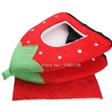 Soft Strawberry Cat Rabbit Bed
