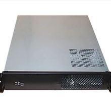Промышленный компьютерный серверный чехол 2U550mm NAS мультимедийный корпус Поддержка стандартного 19 дюймового стоечного крепления