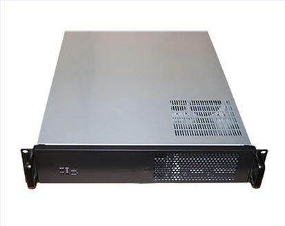 Промышленный чехол для сервера компьютера 2U550mm NAS, мультимедийный корпус с поддержкой стандартного 19 дюймового стеллажа