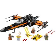 LEPIN 05004 Building Blocks Model Star Wars Poe's X Wing Fighter Model 75102 Bricks Toys For Children Birthday Gifts