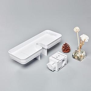 Image 4 - Youpin Dabai Portable Bathroom Showers Storage Rack Towel Hanging Shelf Hanging Storage Rack DIY Organization With Hook