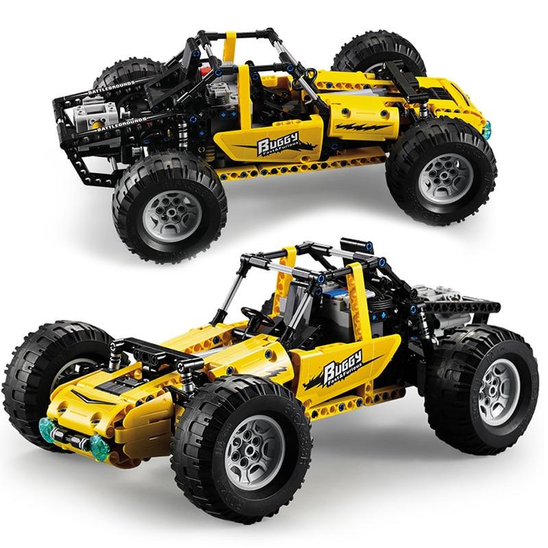Image 5 - 522pcs 2.4Ghz legoingly Technic RC All Terrain Off Road Climbing Trucks Car Off Road Racing Building Blocks Bricks Kids Toys-in Blocks from Toys & Hobbies