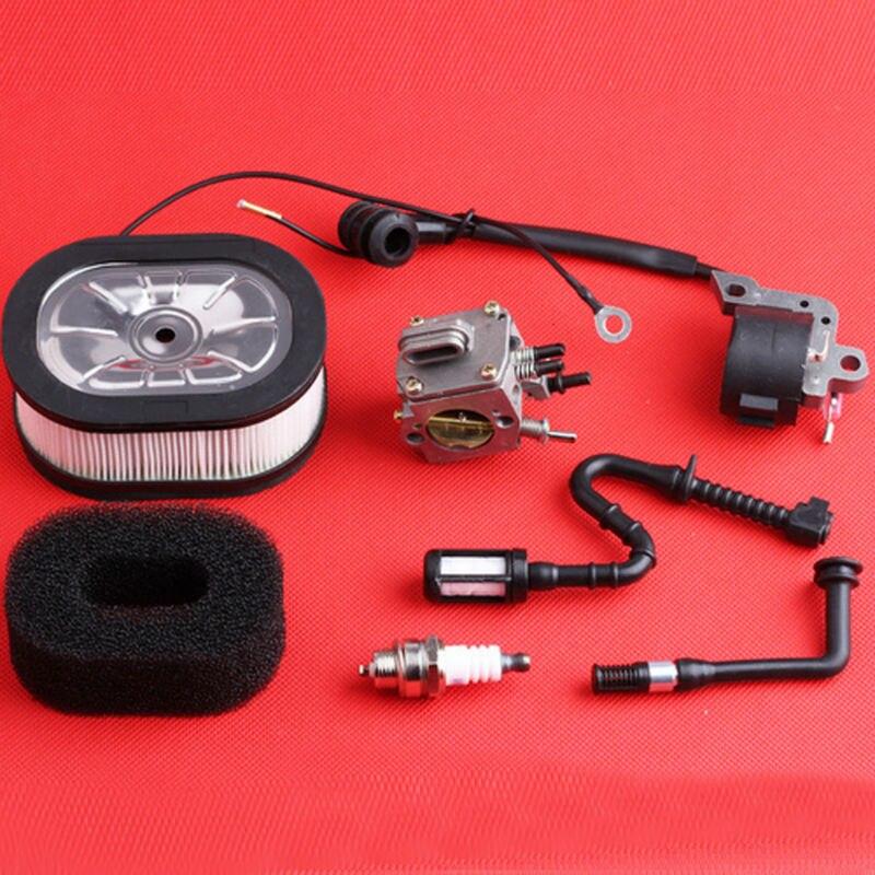 Carburetor Carb Ignition Coil Filter Line for STIHL 044 046 MS440 MS460 Chainsaw parts 1128 120 0625  цены