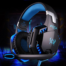 Casque Audio Gaming Headset Luminous Gamer Headphone High Quality Big Earphone For Computer PC With Microphone Mic Head Phone(China)