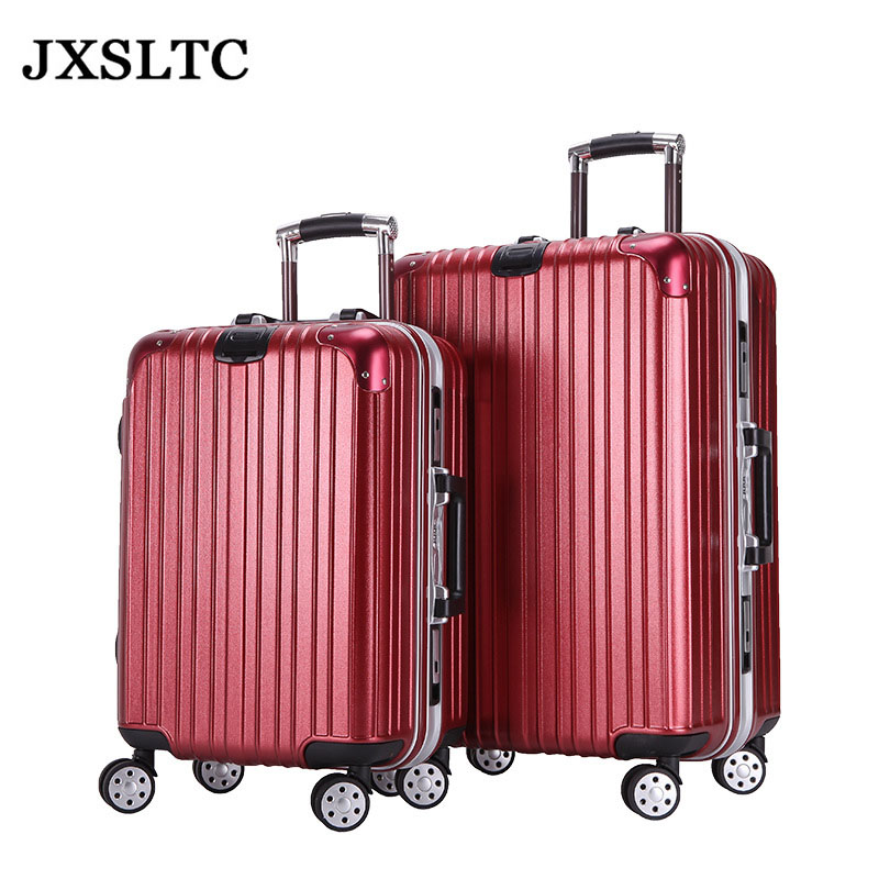 24in Women Rolling Luggage on Wheels Carry-ons Suitcase Girl Trolley Case Travel Waterproof Password Box Extension Boarding Box 20 24in rolling luggage suitcase on wheels abs girl trolley case travel waterproof luggage case extension boarding box
