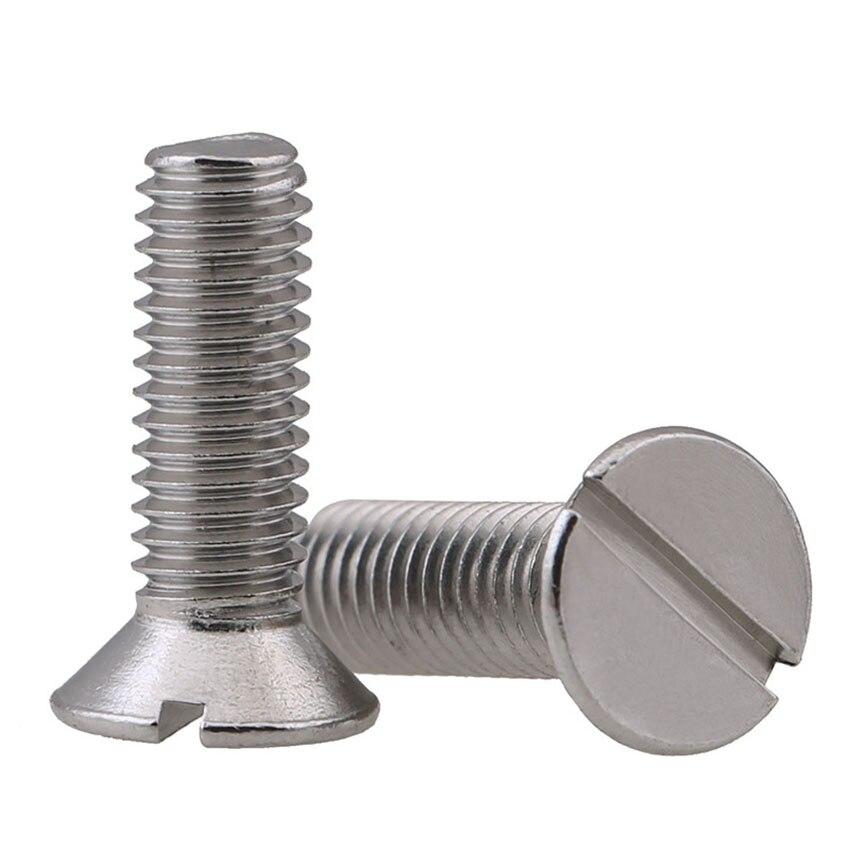 304 stainless steel M6*8-100 Half Round Pan Hex Socket Button head Screws