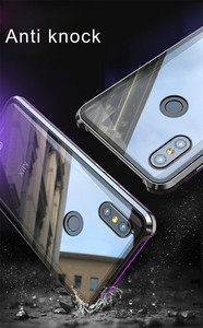 Image 5 - Магнитный чехол для Xiaomi Mi Mix 3, металлический бампер Mix3, прозрачная стеклянная задняя крышка для Xiaomi Mix 3, металлический чехол Mi Mix 3