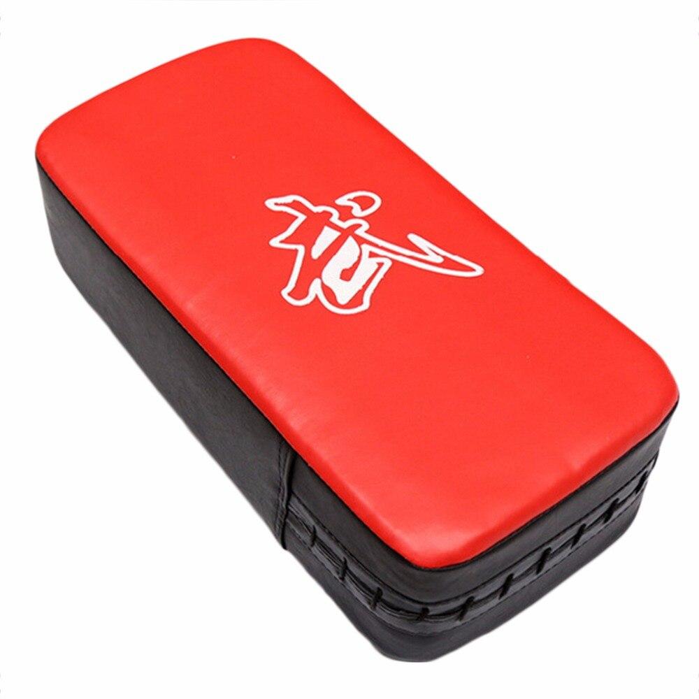 Wholesale Price 40 x 20 x 10cm Boxing pad Leather PU Martial Art Taekwondo MMA Boxing Kicking Punching Foot Target Pad