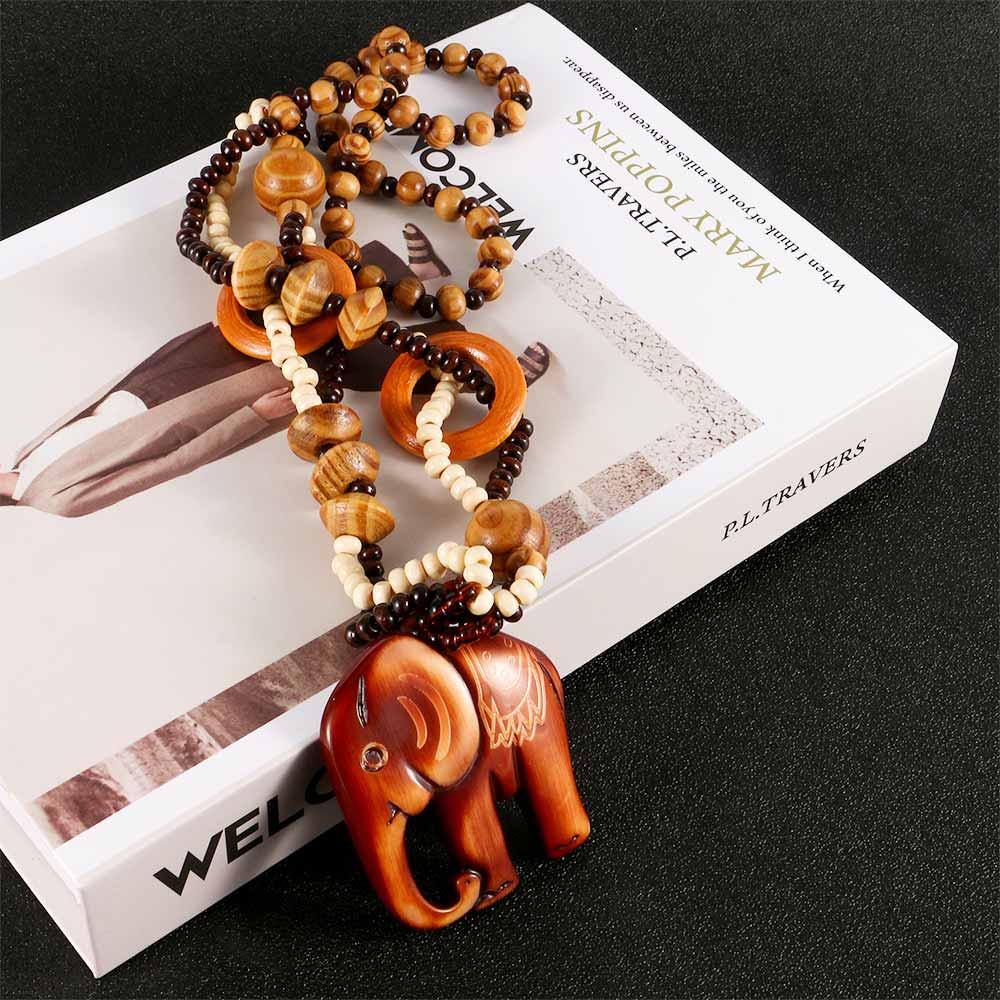 Bohemia Jewelry Elephant Pendant