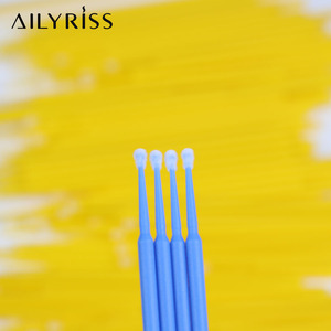 300/500 шт микро щеточки одноразовые аппликаторы тампоны для наращивания ресниц тушь для ресниц Кисть для макияжа глаз клей для удаления