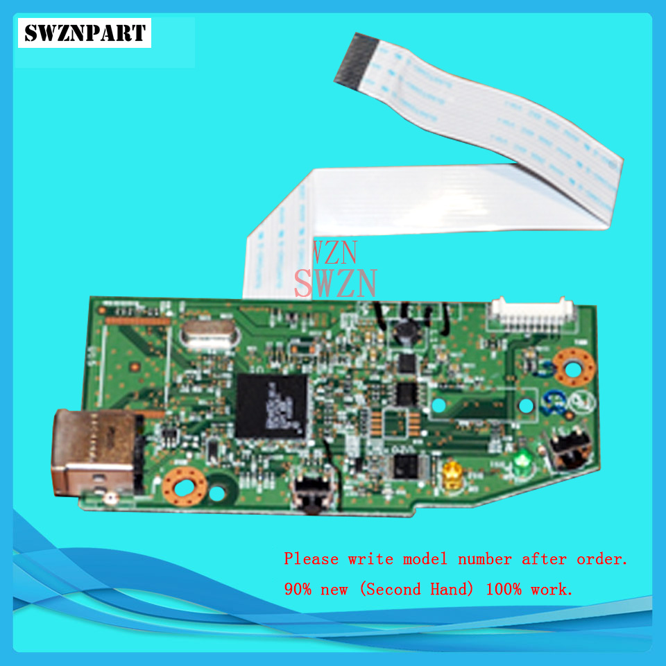 FORMATTER PCA ASSY Formatter Board logic Main Board MainBoard mother board for HP M12W 12W used formatter board logic main board for epson l1300 me1100 t1100 t1110 b1100 w1100 1100 pca assy mainboard mother board