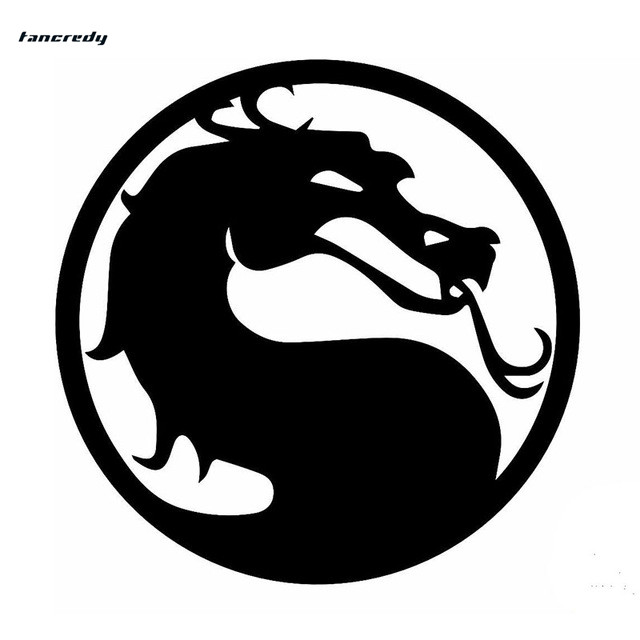 Tancredy THE SECOND HALF PRICE Chinese Dragon Car Stickers and Decals 15*15cm Car Styling Sticker Funny 3D Reflective Sticker