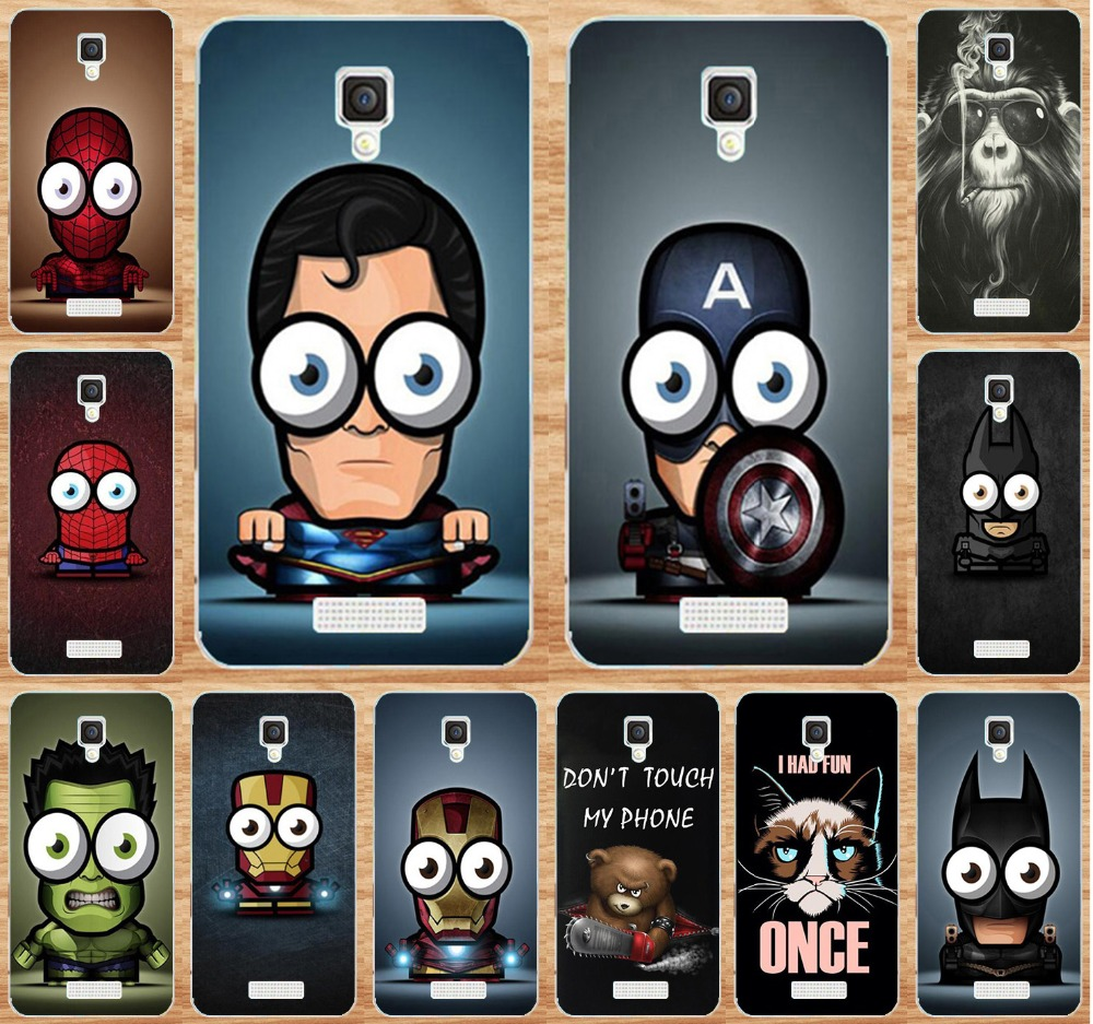 For Lenovo A1000 Cool Amazing Spider Man Superman Iron Man Hard Phone Case For Lenovo A 1000 Phone Cases Cover Shell Phone Cases Case For Lenovocase A Aliexpress