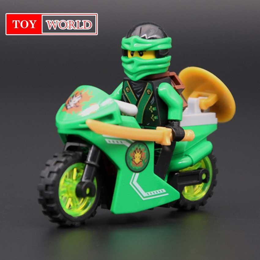 258A Hot Ninja Motorcycle Building Blocks Bricks toys Compatible legoINGly Ninja